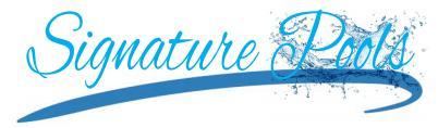 Signature Pools Logo